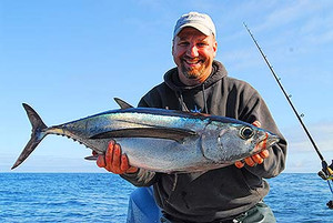 Tuna Fishing Trip for up to six anglers (Select Six Anglers from Drop Down). Boat Rate $3000 this is a 50% deposit.