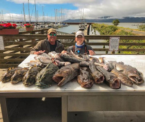 Lingcod & Rockfish Trip $275 per angler this is a 50% deposit