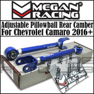 Megan Racing  Rear Camber Arms Kit For Chevrolet Camaro 2016+