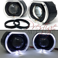 "BMSV3.0 3""  Projector Square LED Halo Ring Angel eye Shrouds For Headlights"