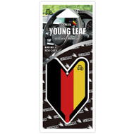 Wakaba Treefrog Young Leaf New Car X Scent German Flag JDM Air Freshener