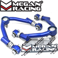Megan Racing Type II Adjustable Front Camber Arms Kit For Mazda RX-8 2003 - 2013 Miata MX-5