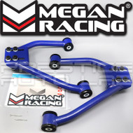 Megan Racing Adjustable Front Upper Control Arms Kit For Infiniti G35 2003 - 2006 350Z