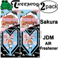 Treefrog Japan Young Leaf Shiba Jdm Squash Scent Air Freshener - 2 Pack