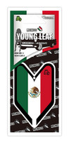 Treefrog Wakaba Young Leaf Mexico Flag Tree Frog JDM Air Freshener, New Car X Scent