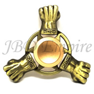 JBD The Hulk Gold fist , Anti-Anxiety Fidget Spinner Toy Helps Focusings EDC Focus Toy for Kids & Adults - Stress Reducer Reliever ADHD Anxiety and Boredom