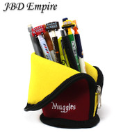 JBD Harry Potter Style Standing Pencil Case / Make up holder NEOPRENE - Red