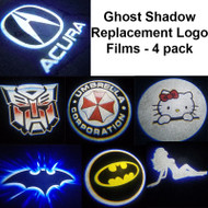 Logo Film Replacements for Ghost Shadow - 2 Pairs