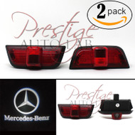 LED Door Step Courtesy Shadow Laser Light for Mercedes C-Class W204 08-14