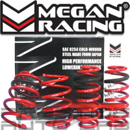 Megan Racing Lowering Springs Kit For Audi A3 AWD Sedan 2013+