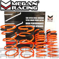 Megan Racing Lowering Springs Kit For Ford Focus 1999 - 2004