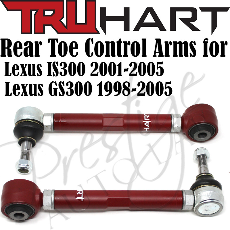 Truhart Rear Toe Control Arms for Lexus IS300 2001-2005 / GS300 1998-2005