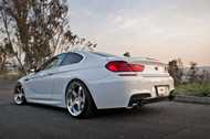 Megan Racing V2 Stainless Rolled Tips Supremo Axle-Back Kit For BMW 650i (F13) 2012+ F12