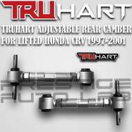 TruHart Rear  Adjustable Camber Control Arms for LIFTED 1997-2001 Honda CRV