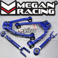 Megan Racing Front Upper + Rear Camber Control  Arms Kit For Nissan 350Z 03-2009