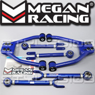 Megan Racing Adjustable Front cambers, Rear Camber & Rear Traction arms Kit For 350Z G35