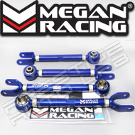 Megan Racing Adjustable Rear Camber +Radius Arms Kit For Nissan 350Z 03-2009 G35
