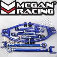 Megan Racing Adjustable Front + Rear Camber + Radius + Toe arms Kit For 350z G35