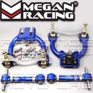 Megan Racing Front Upper + Rear Camber Arms Kit For Honda Civic 1992 - 1995