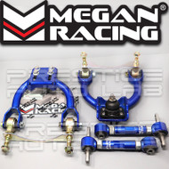 Megan Racing Front Upper + Rear Camber Arms Kit For Honda Del Sol 1993-1997