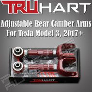 Truhart Adjustable Rear Camber Arms Kit For 2017+ Tesla Model 3