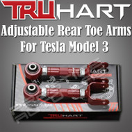 Truhart Adjustable Rear Toe Arms Kit For 2017+ Tesla Model 3