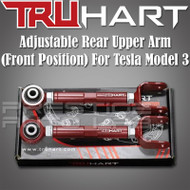 Truhart Adjustable Rear Upper Arms ( Front Position ) For 2017+ Tesla Model 3