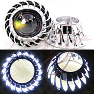 Mini Turbine Projector Shrouds with Halo/Angel Eyes