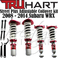 Truhart StreetPlus Coilover system for 2008-2014 Subaru WRX