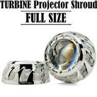 Turbine Shroud for Projector Retrofit HID/LED - Full Size