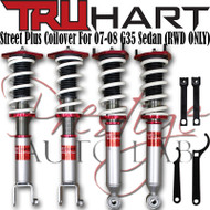 Truhart StreetPlus Coilover system for 2007-2008 Infiniti G35 Sedan (RWD ONLY)  True Coilovers