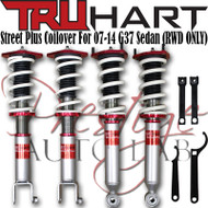 Truhart StreetPlus Coilover system for 2007-2014 Infiniti G37 Sedan (RWD ONLY) True Coilovers