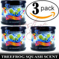 3 CAN TREEFROG JDM Products Tree Frog SQUASH Scent Air Freshener