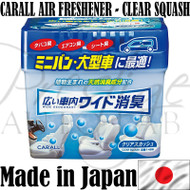 Carall Wide Extra Large 800g Car Air Freshener - 1488 CLEAR SQUASH