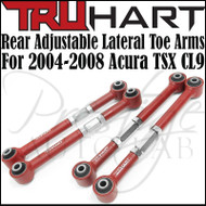 Truhart Adjustable Rear Lateral Toe Arms Kit For 2004-2008 Acura TSX
