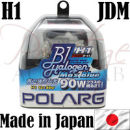 Polarg H1 3900k 55w Max Blue Halogen Bulbs - Made in Japan JDM