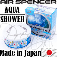 Air Spencer Eikosha Cartridge Squash Air Freshener Made in Japan - A31 Aqua Shower