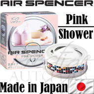 Air Spencer Eikosha Cartridge Squash Air Freshener Made in Japan - A42 Pink Shower