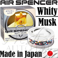 Air Spencer Eikosha Cartridge Squash Air Freshener Made in Japan - A43 Whity Musk