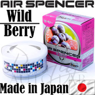 Air Spencer Eikosha Cartridge Squash Air Freshener Made in Japan - A44 Wild Berry