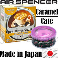 Air Spencer Eikosha Cartridge Squash Air Freshener Made in Japan - A75 Caramel Cafe
