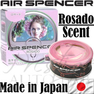 Air Spencer Eikosha Cartridge Squash Air Freshener Made in Japan - A86 Rosado