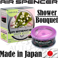 Air Spencer Eikosha Cartridge Squash Air Freshener Made in Japan - A98 Shower Bouquet