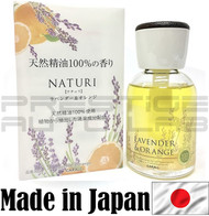 Lavender & Orange 3058 Carall Naturi Perfume Bottle Air Freshener - Made in Japan JDM