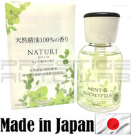 Mint & Eucalyptus 3057 Carall Naturi Perfume Bottle Air Freshener - Made in Japan JDM