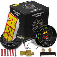AEM Electronics X-Series 100 PSI/7BAR Oil/Fuel Pressure Gauge