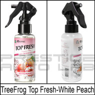 TreeFrog Top Fresh Fragrance Mist Bottle Air Freshener - White Peach
