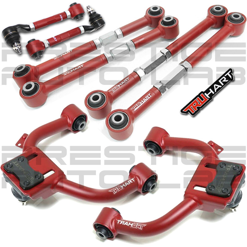 Truhart Adjustable Negative Front Camber, Rear Toe Arms