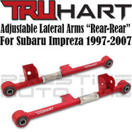 TruHart Adjustable Rear Rear Lateral Arms For Subaru Impreza 1997 - 2001