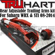 TruHart Adjustable Rear Trailing Arms Kit For Subaru Impreza WRX STI 2008 - 2014